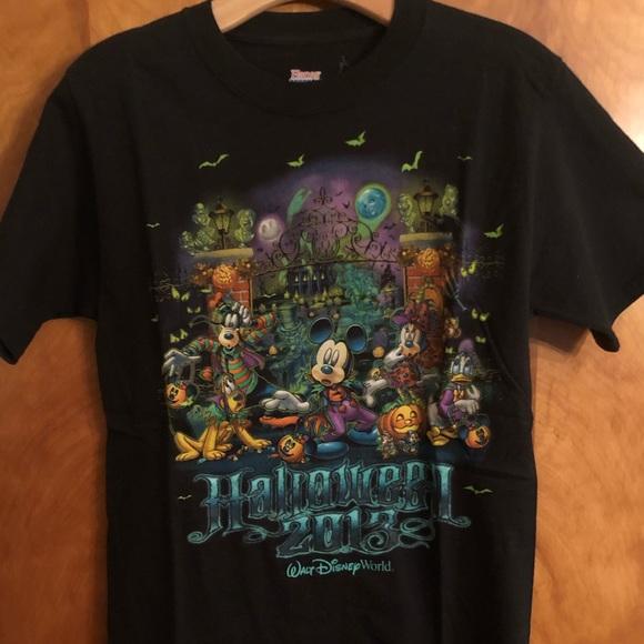Walt Disney World Halloween T Shirts.Walt Disney World Halloween 2013 Limited Edition